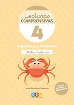 LECTURAS COMPRENSIVAS 4 SILABAS TRABADAS 4ºED