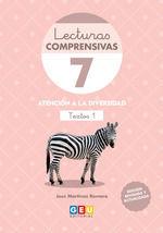 LECTURAS COMPRENSIVAS 7 4ª EDICION