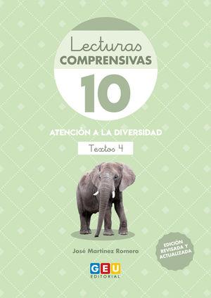 LECTURAS COMPRENSIVAS 10 4 ED