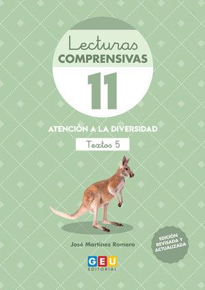 LECTURAS COMPRENSIVAS 11 NUEVA EDICION