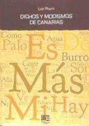 DICHOS Y MODISMOS DE CANARIAS