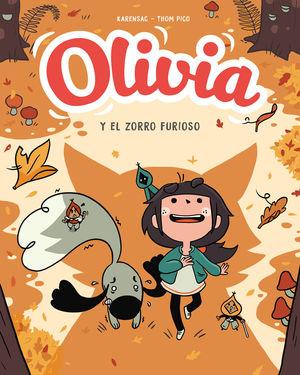 OLIVIA. EL ZORRO FURIOSO (OLIVIA 2)