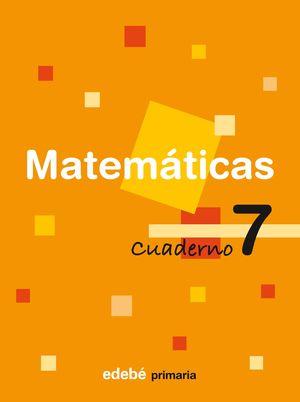 SALDO CUADERNO 7 MATEMÁTICAS EDEBE