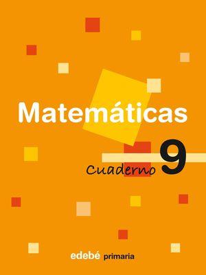 SALDO CUADERNO 9 MATEMÁTICAS PRIMARIA EDEBE