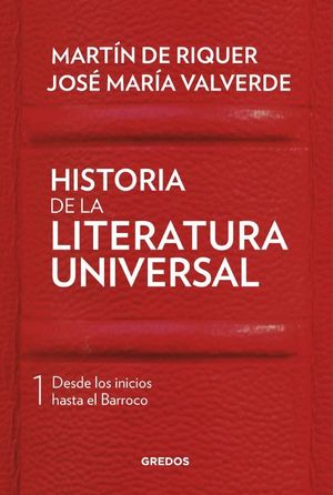 I. HISTORIA DE LA LITERATURA UNIVERSAL
