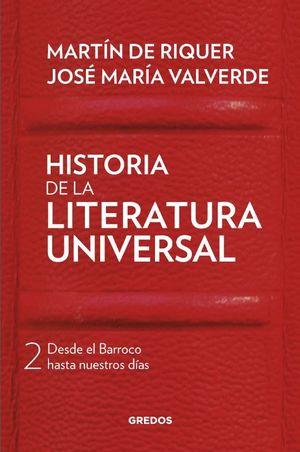 II. HISTORIA DE LA LITERATURA UNIVERSAL