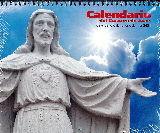 CALENDARIO -2021 PARED CON FALDILLA SAGRADO SORAZON