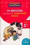 CUAD COMPRENSION LECTORA 1º PRIMARIA VACACIONES 2006