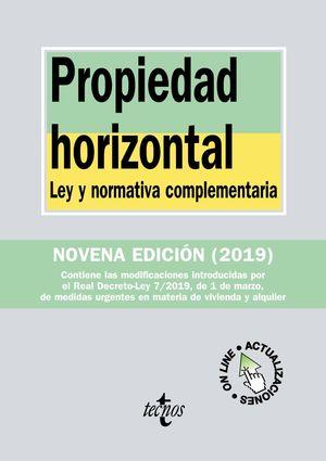 2019 PROPIEDAD HORIZONTAL