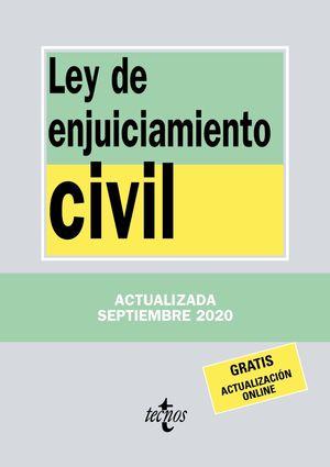 LEY DE ENJUICIAMIENTO CIVIL 2020