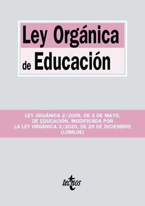 LEY ORGÁNICA DE EDUCACIÓN 2021