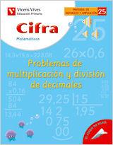 CIFRA CUADERNO 25.  MATEMATICAS.  REFUERZO Y AMPLIACION