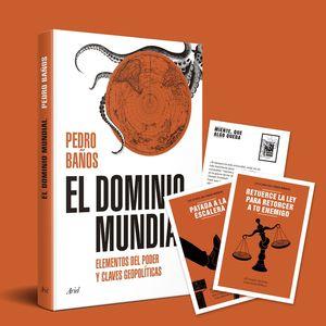 PACK TC EL DOMINIO MUNDIAL + POSTALES 12 ESTRATEGIAS