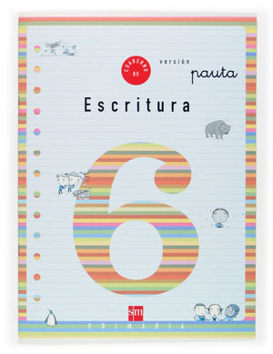 2EP.CUADERNO ESCRITURA 6 V.PAUTA 04