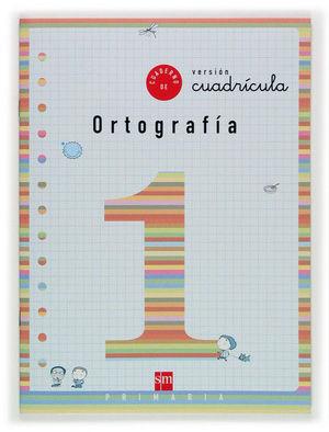 1EP.CUADERNO ORTOGRAFIA 1 CUADRICULA