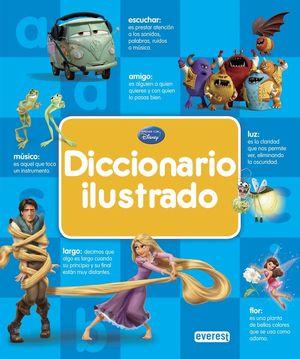 DICCIONARIO ILUSTRADO DISNEY