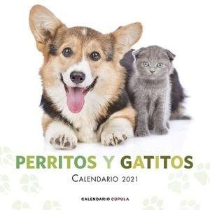 CALENDARIO PERRITOS Y GATITOS 2021