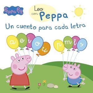 UN CUENTO PARA CADA LETRA (A, E, I, O, U, P, M, L, S) (LEO CON PEPPA PIG)