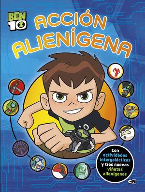 ACCIÓN ALIENÍGENA (BEN 10. ACTIVIDADES)
