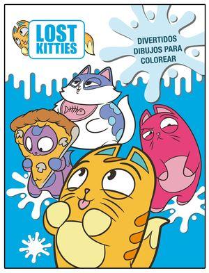 DIVERTIDOS DIBUJOS PARA COLOREAR (LOST KITTIES. ACTIVIDADES)