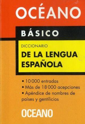 BASICO DICCIONARIO DE LA LENGUA ESPAÑOLA