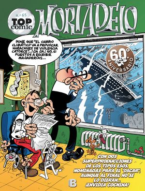 EL CAPO SE ESCAPA (TOP CÓMIC MORTADELO 65)