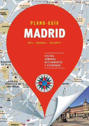 MADRID (PLANO-GUÍA) 2019