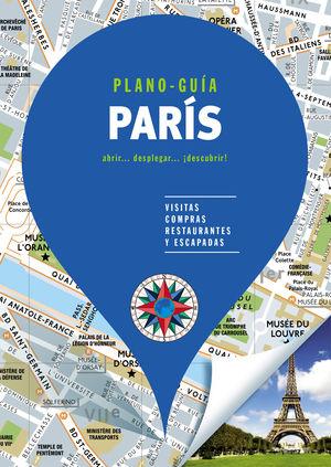PARÍS (PLANO-GUÍA) 2019