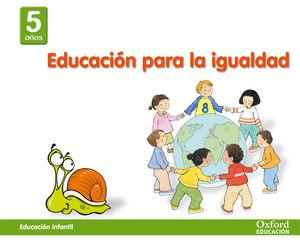 SALDO VALORES 5 AÑOS. EDUCACIÓN PARA LA IGUALDAD OXFORD