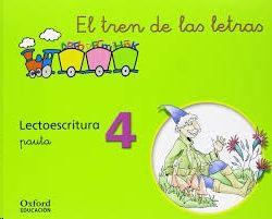 SALDO EL TREN DE LAS LETRAS. LECTOESCRITURA 2 (PAUTA) OXFORD