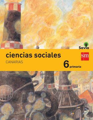 CIENCIAS SOCIALES. 6 PRIMARIA. SAVIA. CANARIAS