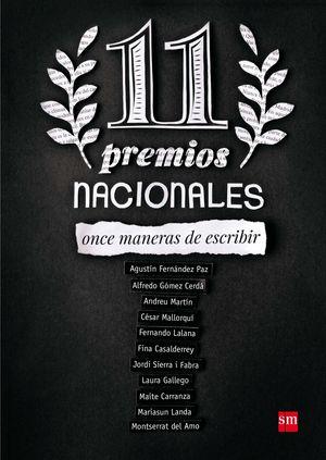 11 PREMIOS NACIONALES
