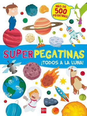 ¡TODOS A LA LUNA! SUPERPEGATINAS