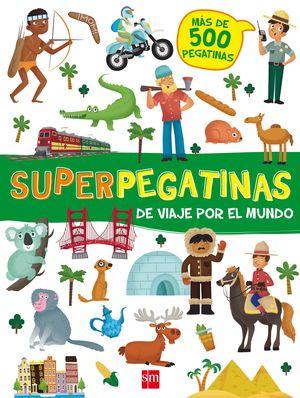 DE VIAJE POR EL MUNDO. SUPERPEGATINAS