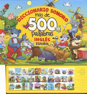 DICCIONARIO SONORO MÁS DE 500 PALABRAS INGLÉS ESPAÑOL