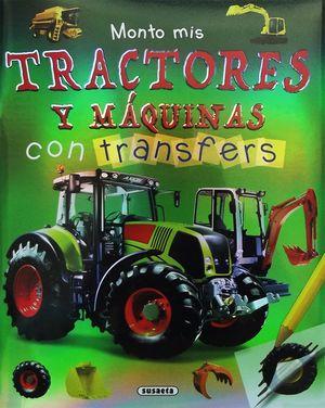 MONTO MIS TRACTORES Y MÁQUINAS CON TRANSFERS