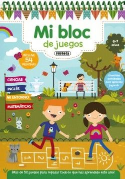 MI BLOC DE JUEGOS 6-7 AÑOS