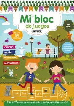 MI BLOC DE JUEGOS 6-7 AÑOS
