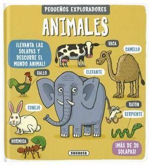 ANIMALES. PEQUEÑOS EXPLORADORES