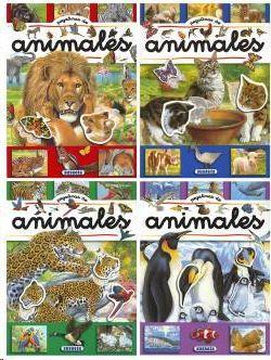 PEGATINAS DE ANIMALES (4 TÍTULOS)