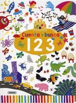 CUENTA Y BUSCA. 1,2,3