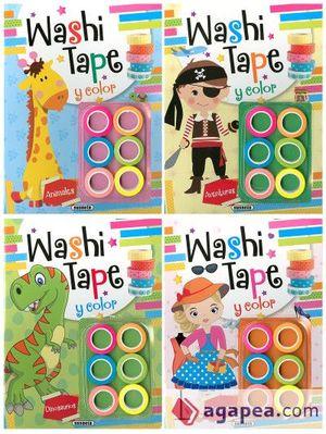 WASHI TAPE (4 TÍTULOS)