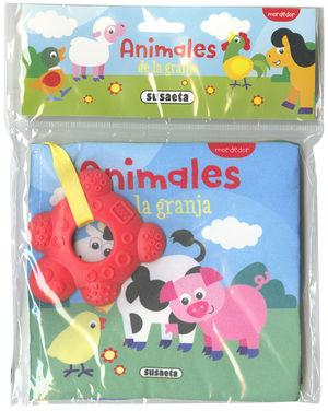 ANIMALES DE LA GRANJA. LIBRO DE TELA
