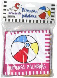 PRIMERAS PALABRAS (LIBRO DE TELA)