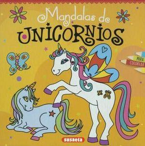 MANDALAS DE UNICORNIOS PARA COLOREAR
