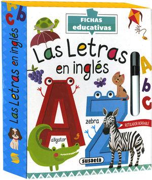 LAS LETRAS EN INGLES
