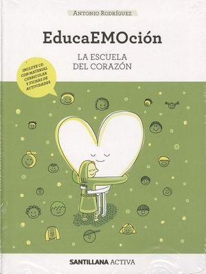 SANTILLANA  ACTIVA EDUCAEMOCION + CD ED18