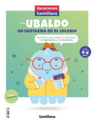 4 AÑOS VACACIONES 3 INFANTIL 2021 UBALDO