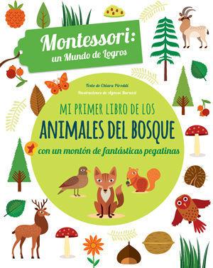 MI PRIMER LIBRO DE LOS ANIMALES DEL BOSQUE (VVKIDS)