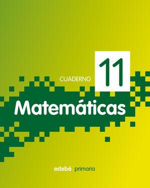 SALDO CUADERNO 11. MATEMÁTICAS 4º PRIMARIA EDEBE